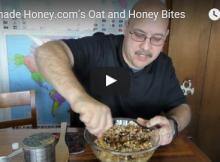 Oat and Honey Bites Video