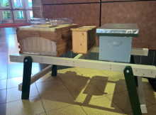 Bee Yard Hive Bench